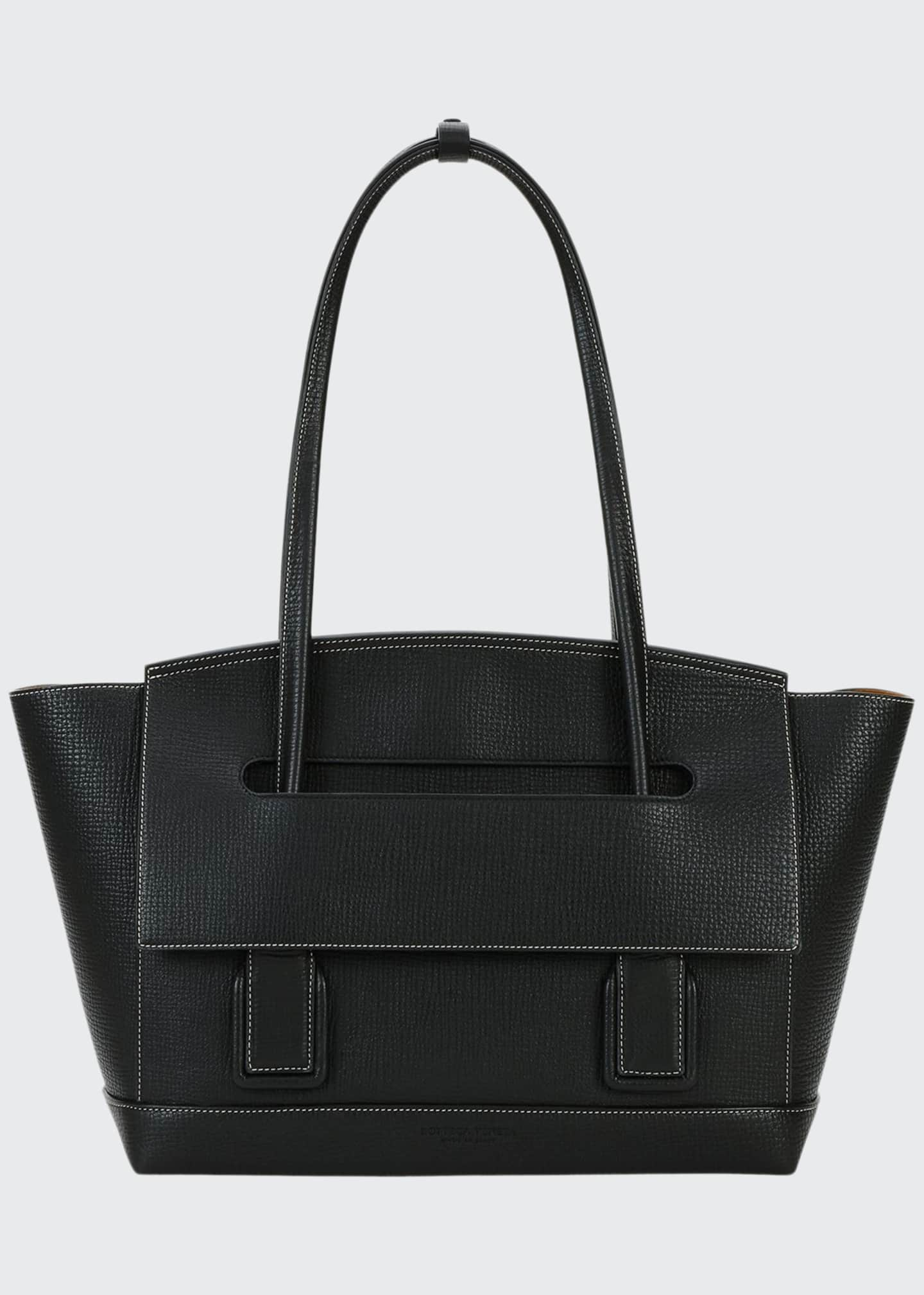 Image 1 of 5: Medium Palmellato Leather Top-Handle Bag