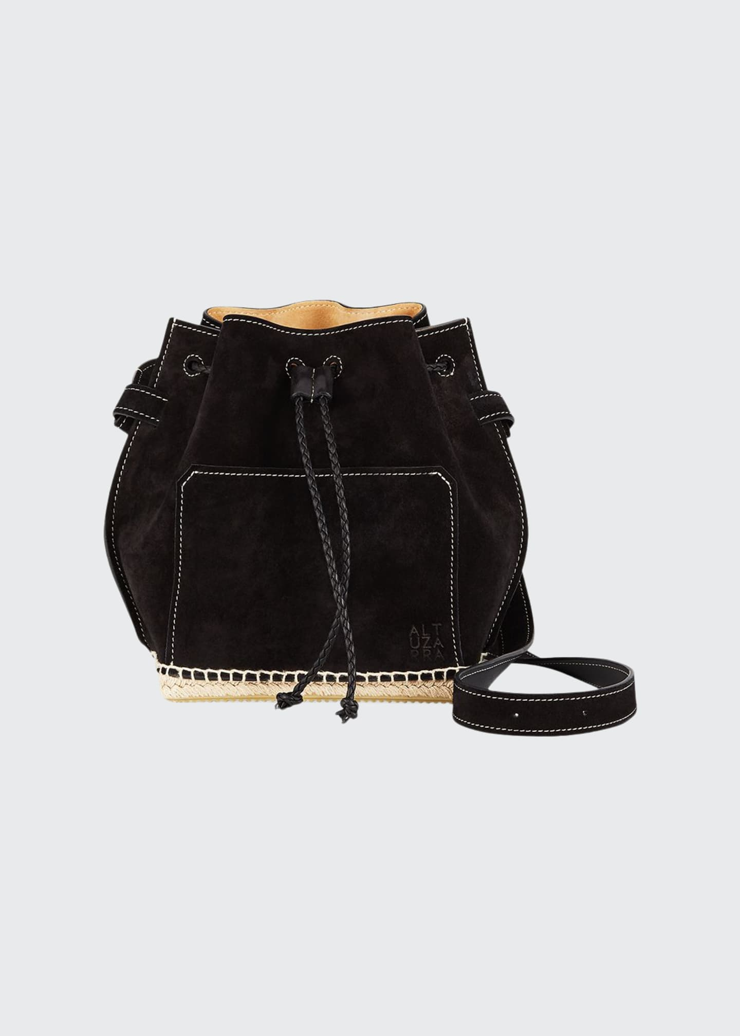 Altuzarra Suede Espadrille Bucket Bag