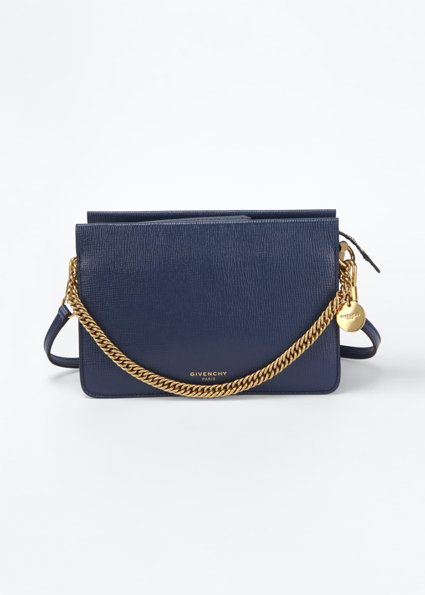 Givenchy Cross3 Leather Crossbody Bag