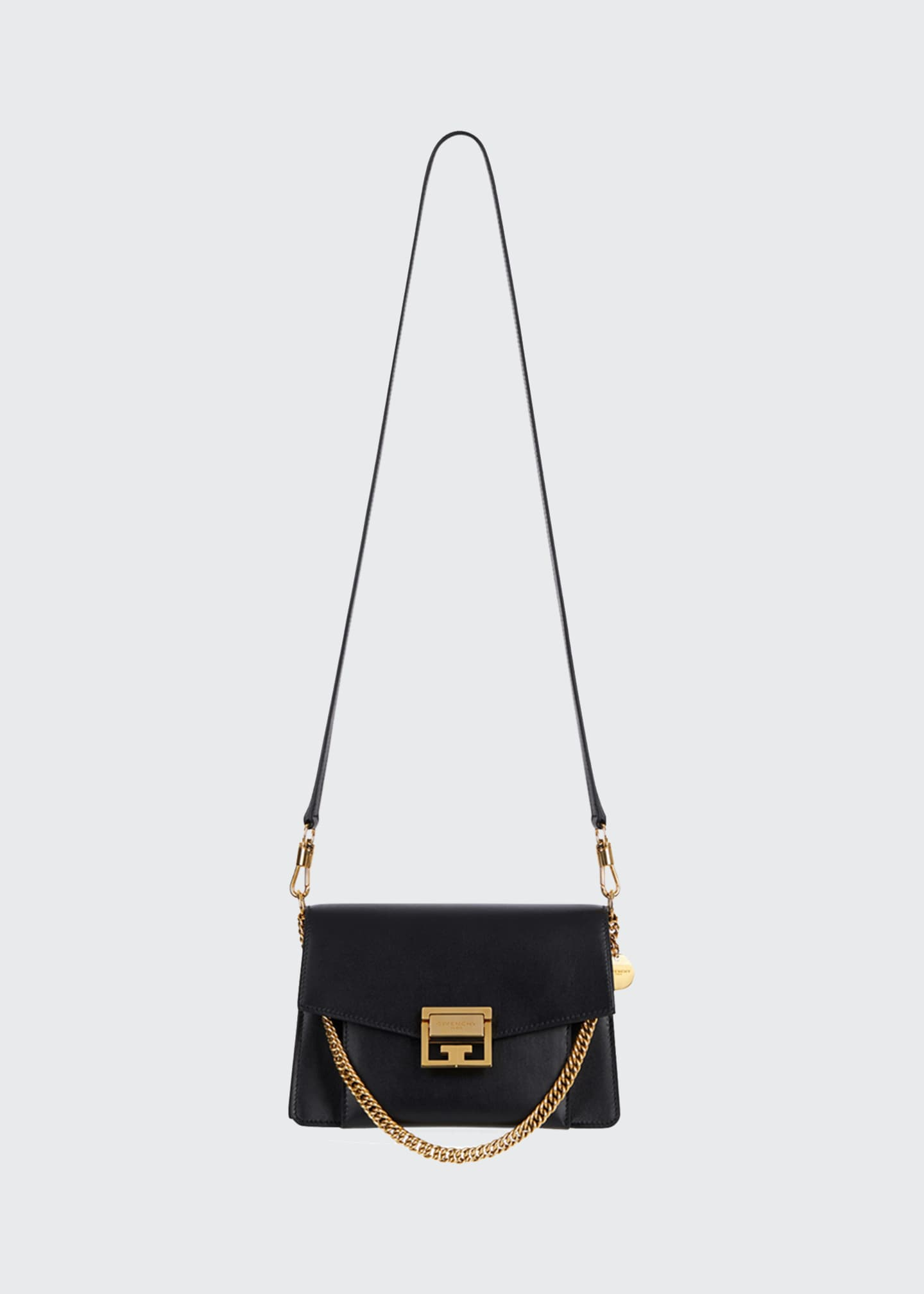 Givenchy GV3 Small Calf Box Shoulder Bag