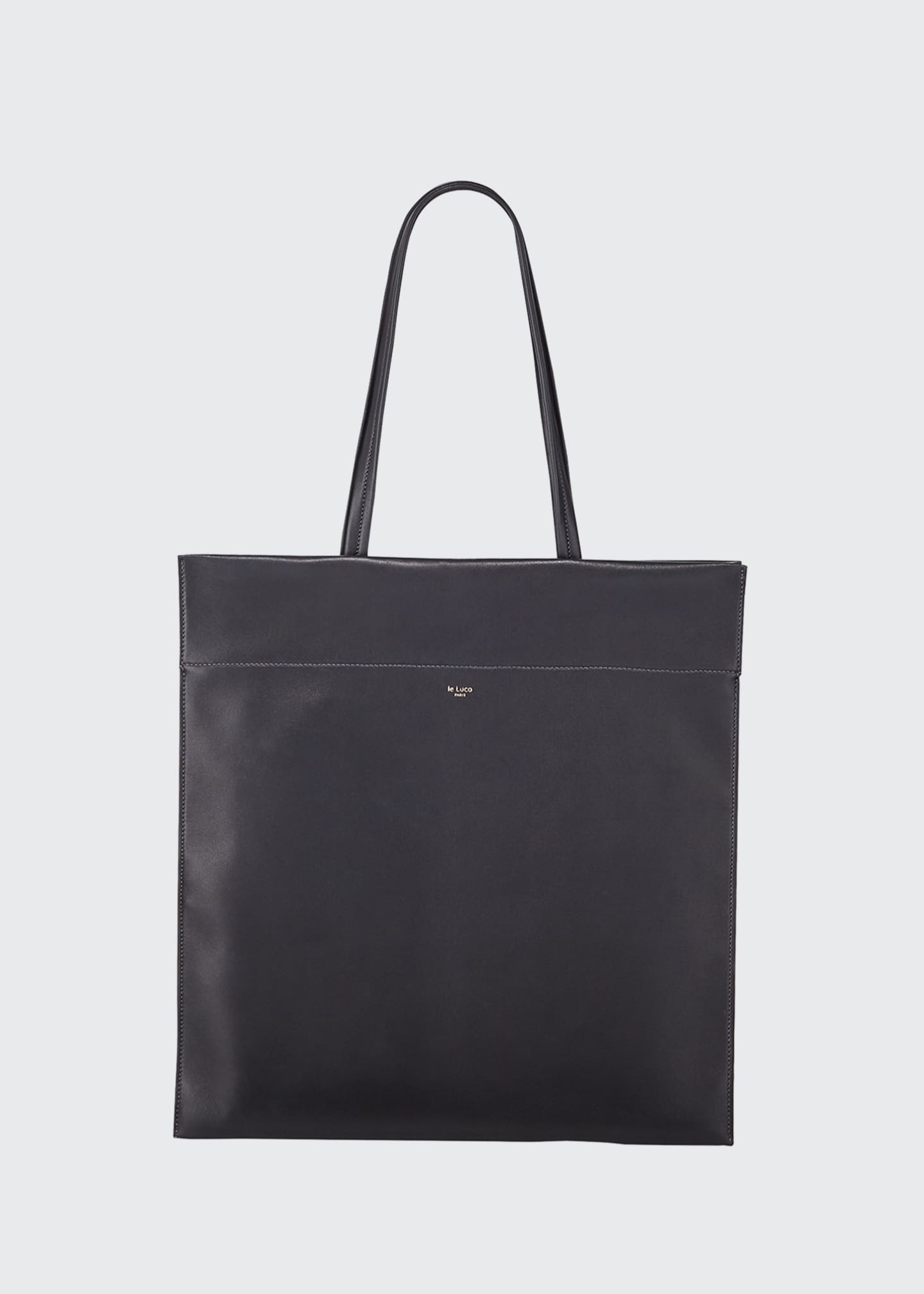 Image 1 of 3: Leather Totem Tote Bag
