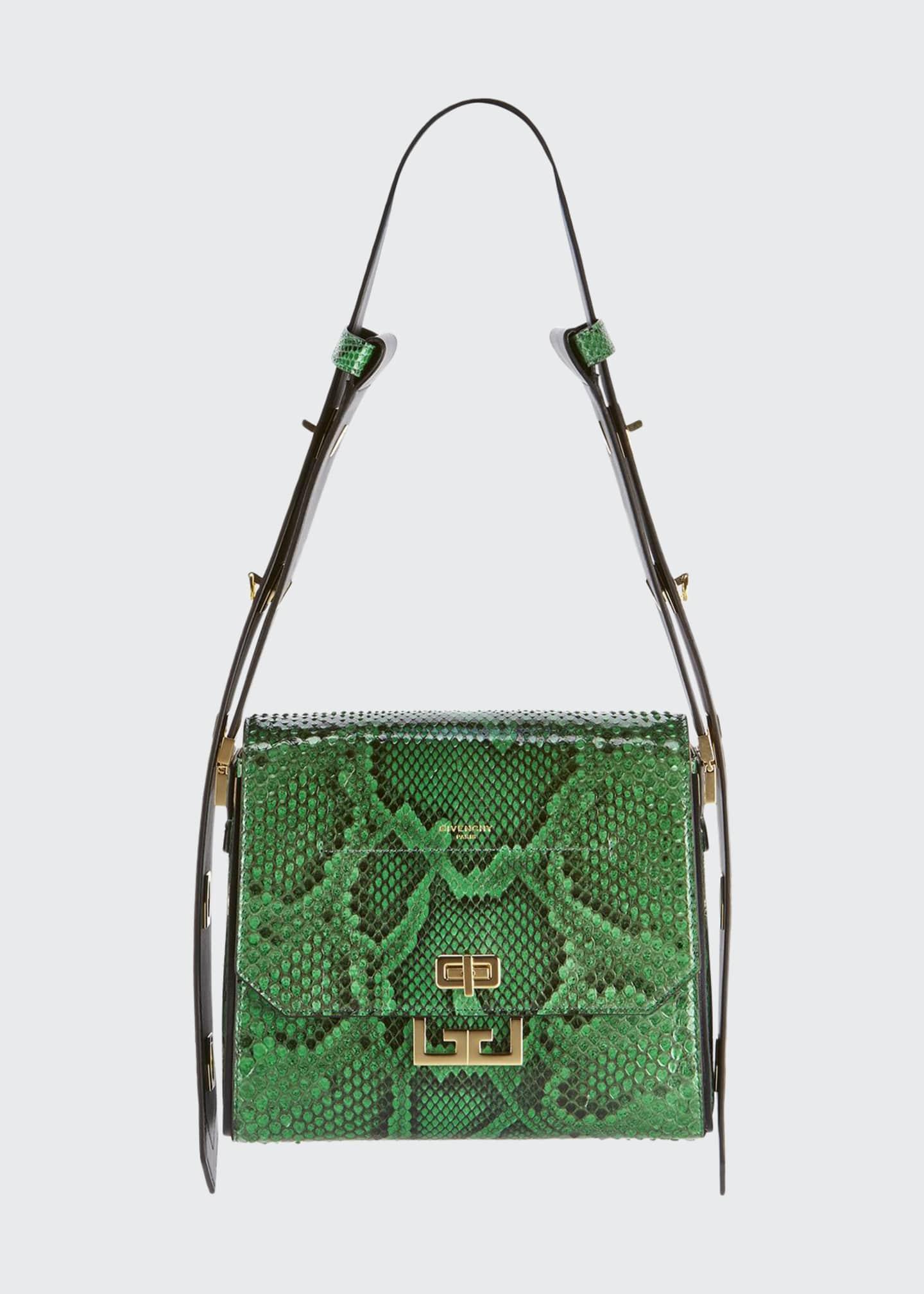 Givenchy Eden Medium Python Shoulder Bag