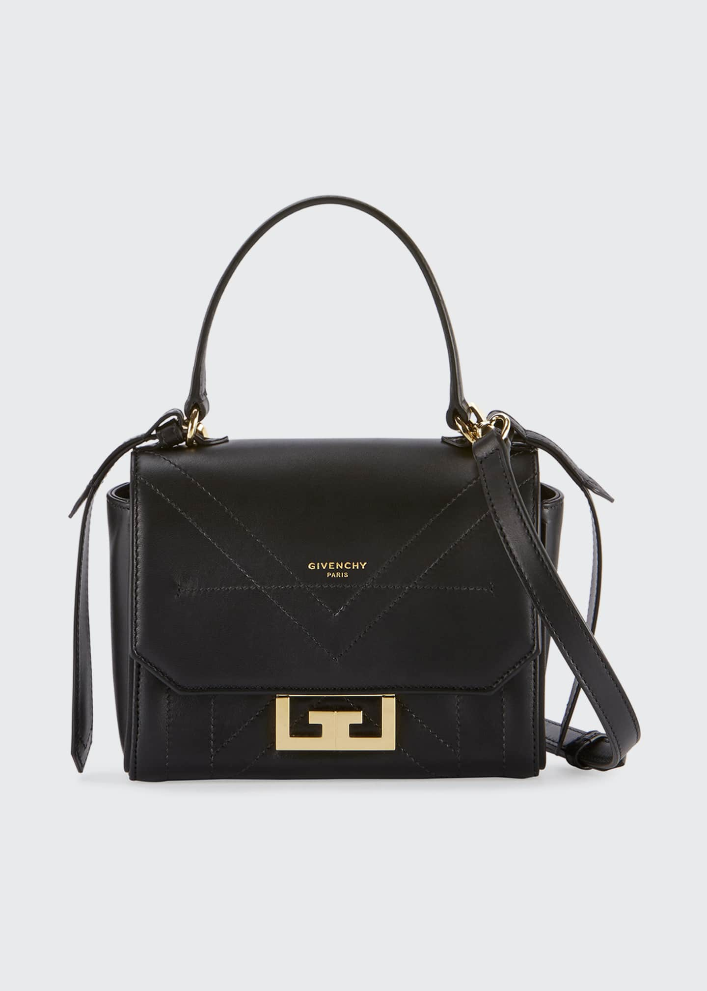 Image 1 of 3: Eden Mini Smooth Leather Crossbody Bag