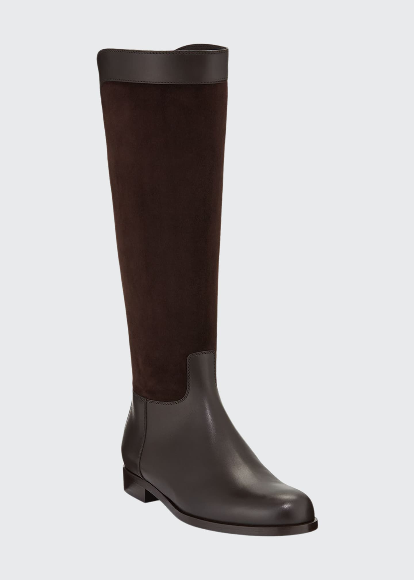 Loro Piana Welly Calf Flat Riding Boots