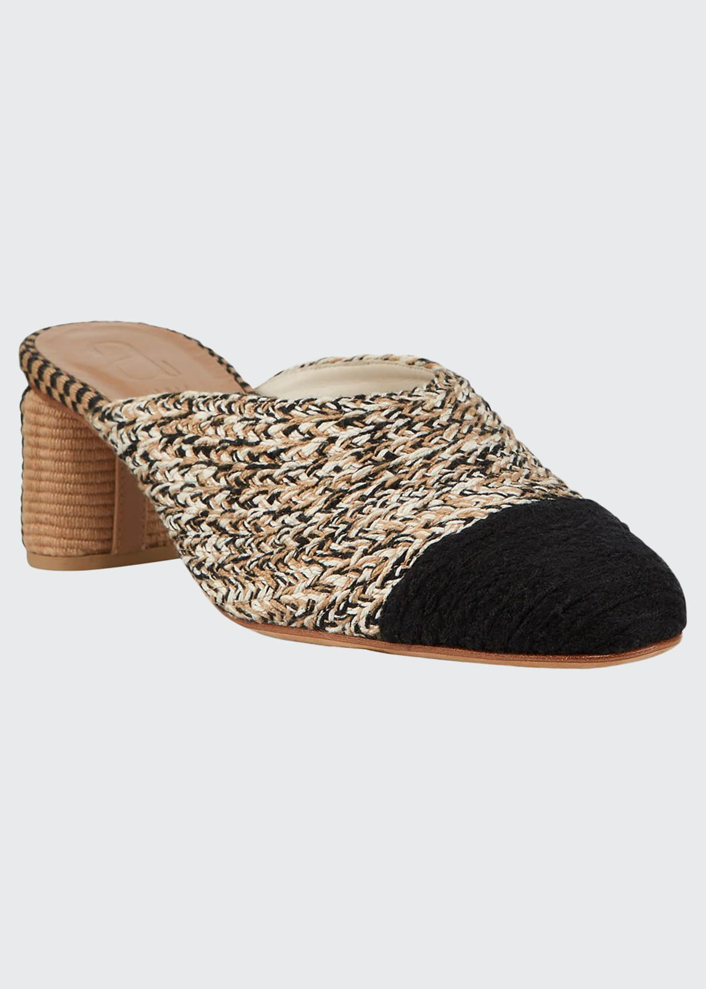 Image 1 of 3: Dorina Woven Mules