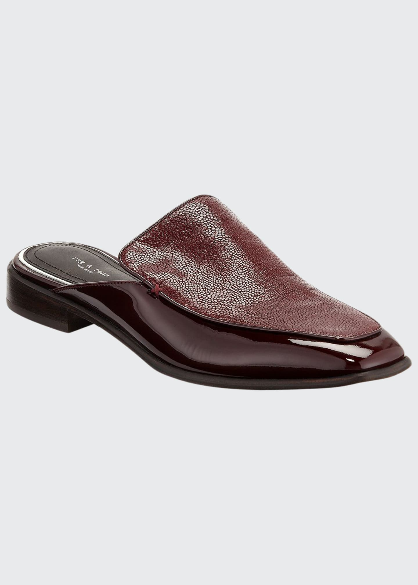 Rag & Bone Aslen Flat Loafer Mules