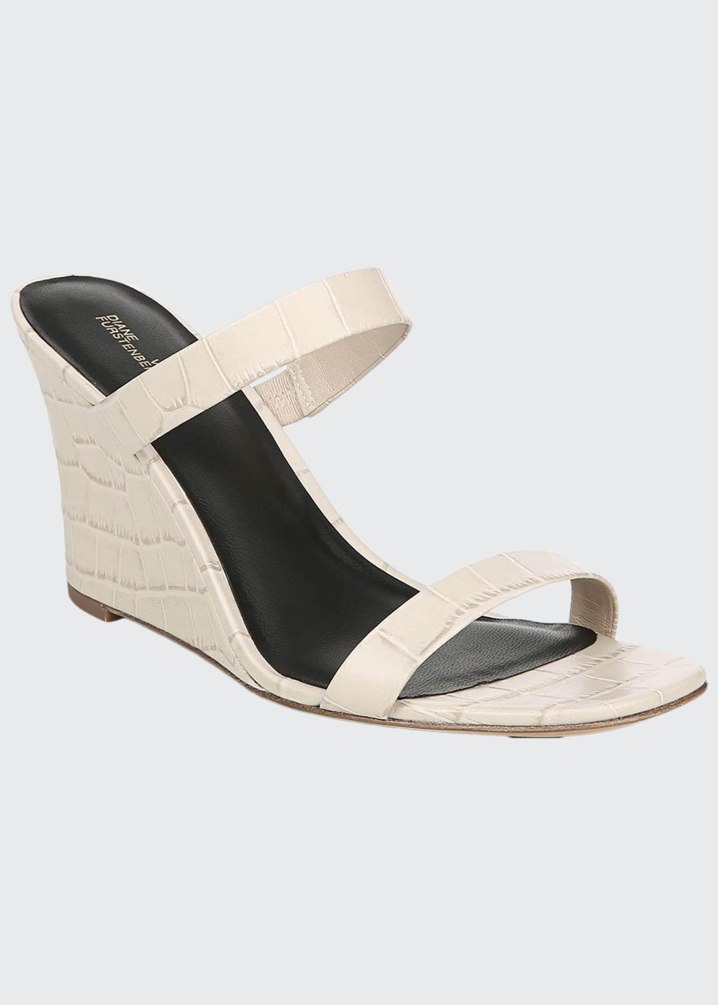 Diane von Furstenberg Vivienne Slide Wedge Sandals