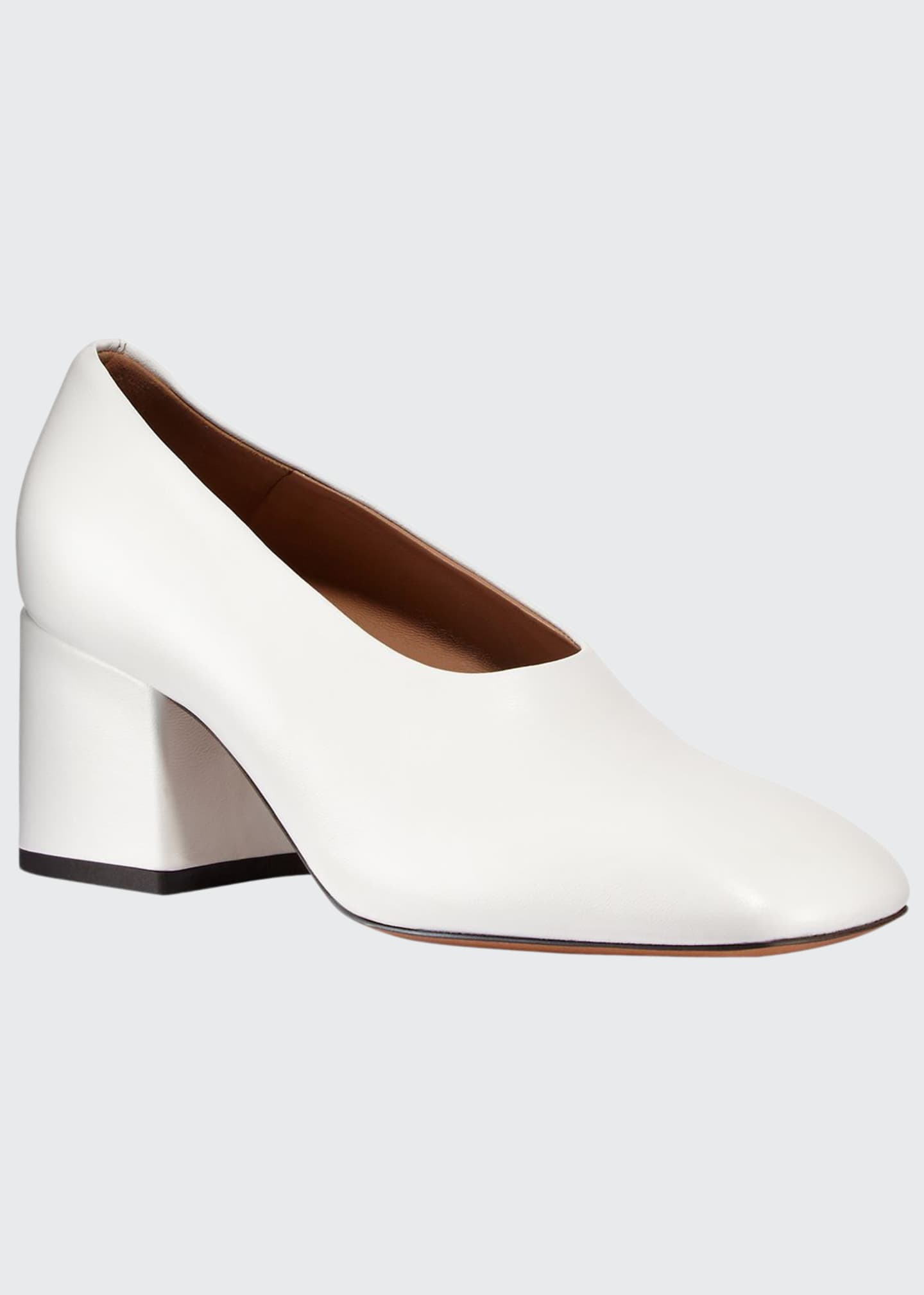 Marni Square-Toe Slip-On Pumps