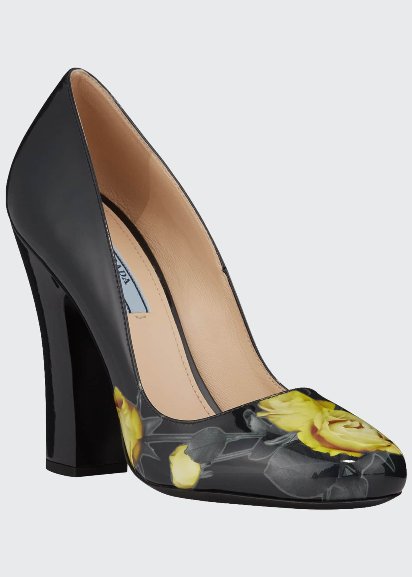 Image 1 of 4: Vernice St. Beauty Roses Pumps