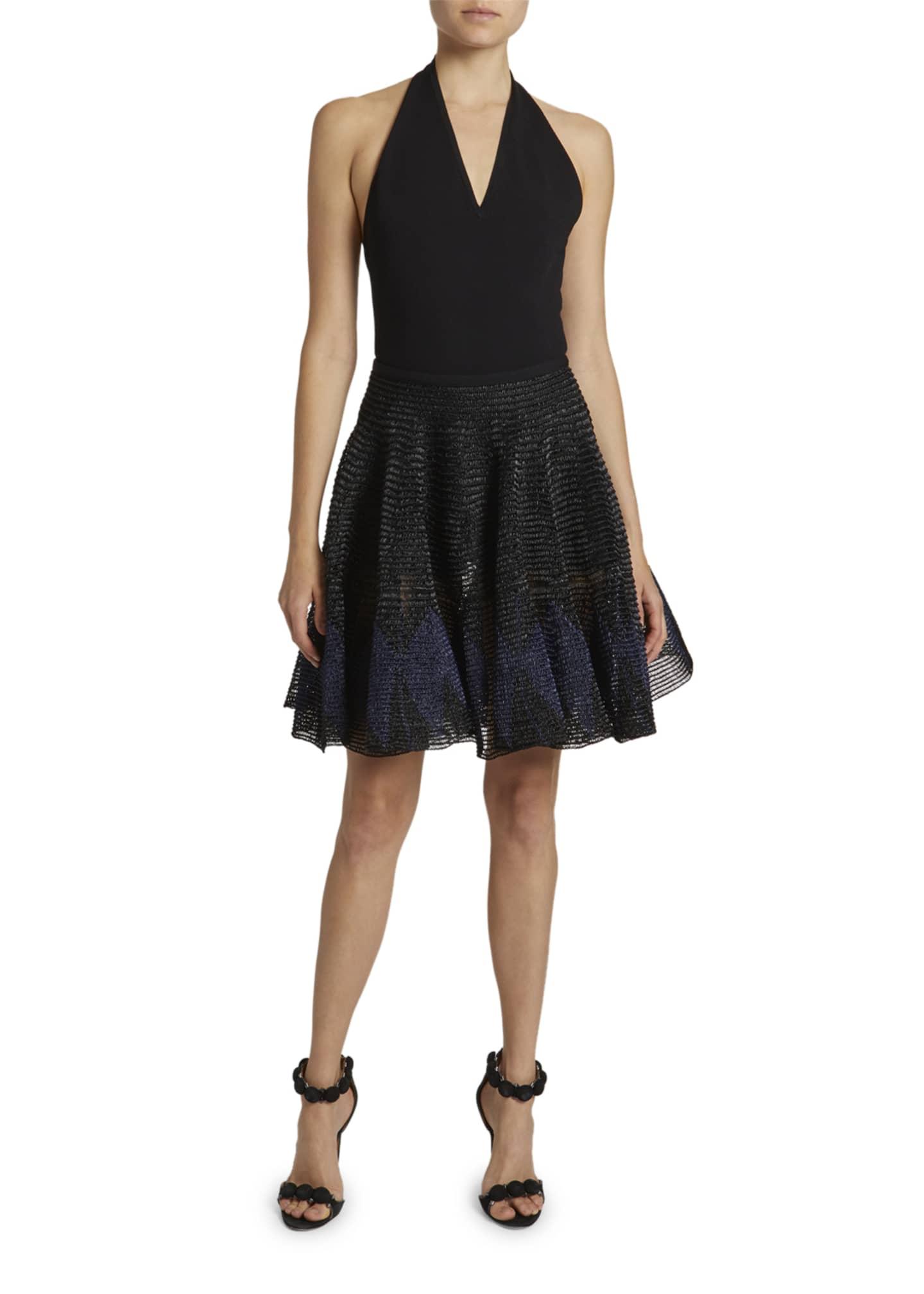 ALAIA Halter-Neck Jersey Bodysuit