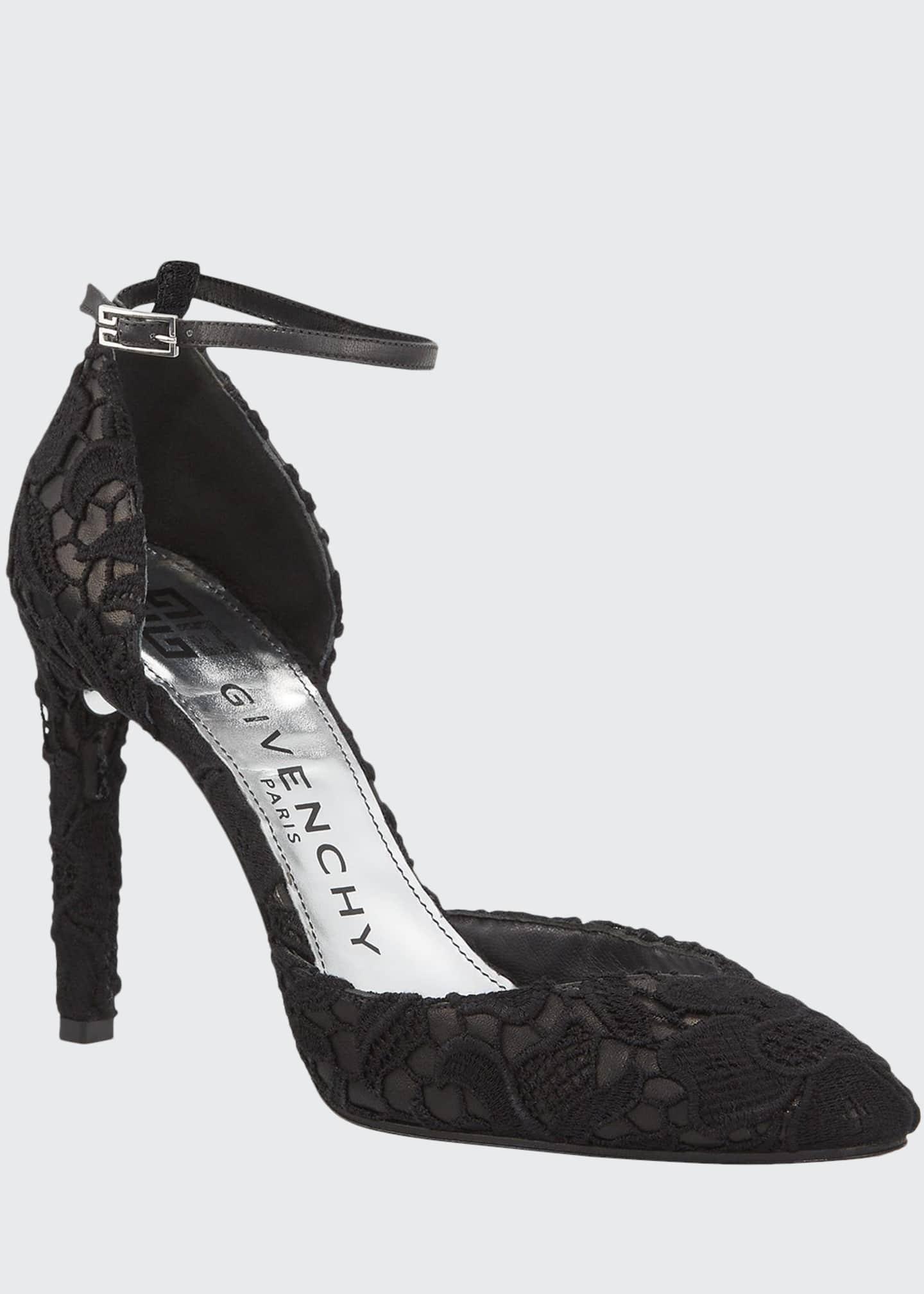 Givenchy Haute Couture Lace Pumps