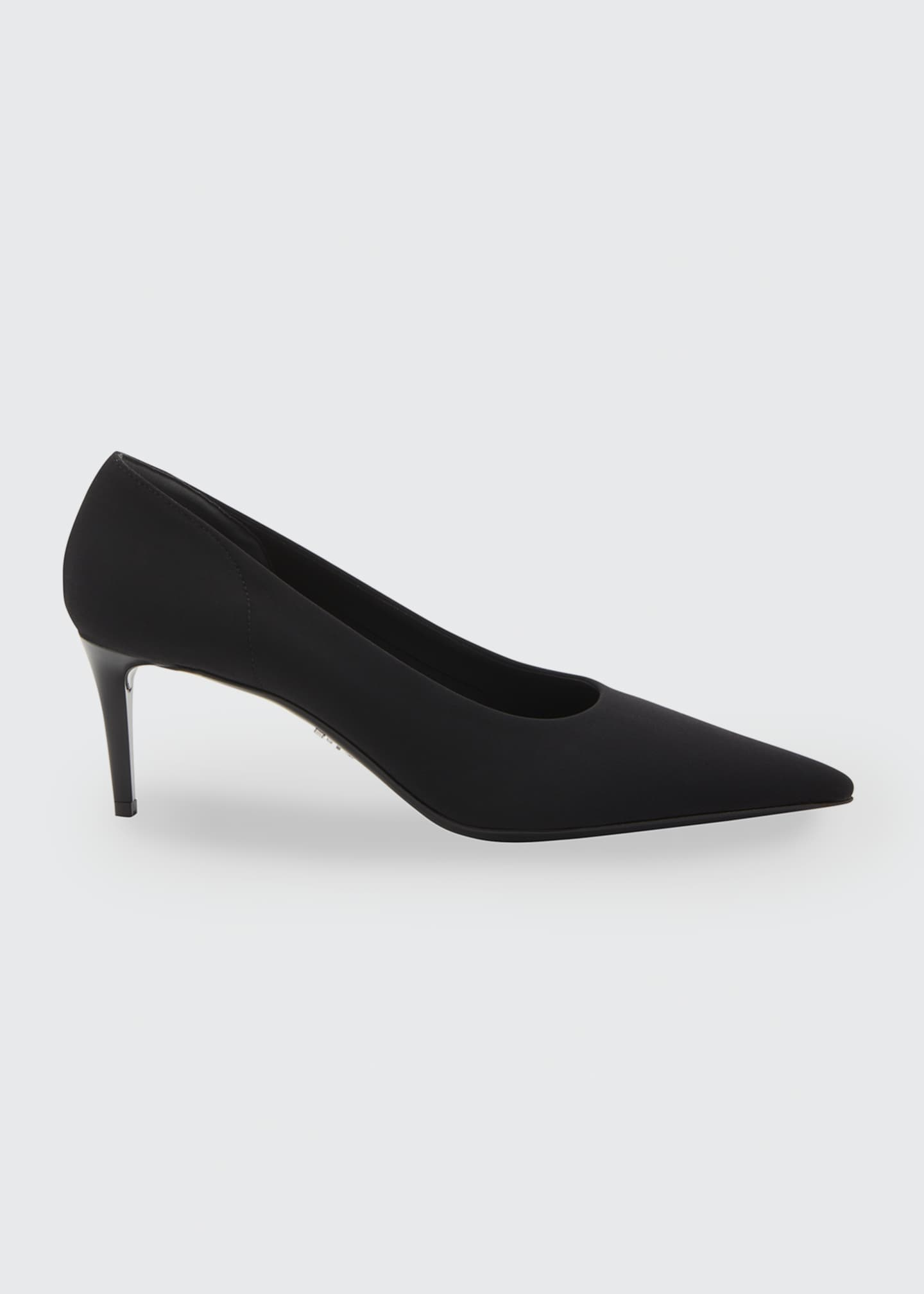 Image 1 of 2: Fabric Stretch 65mm Pumps