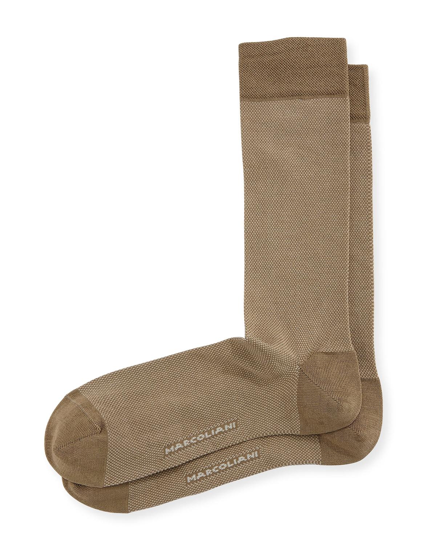 Microdot Cotton Socks