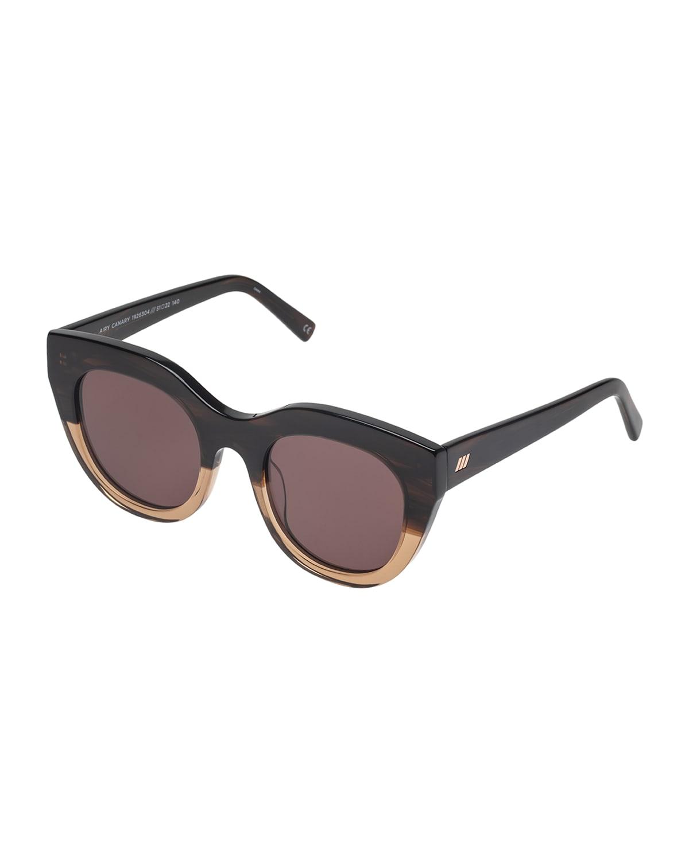Airy Canary Cat-Eye Sunglasses