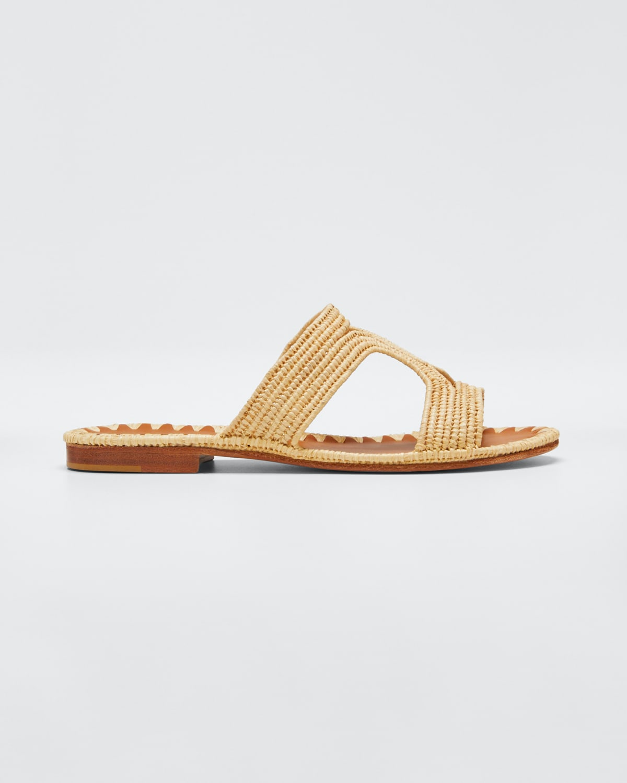 Moho Woven Flat Sandals