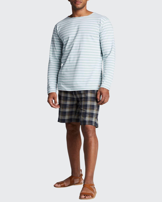 Men's Mariniere Cotton Crewneck T-Shirt