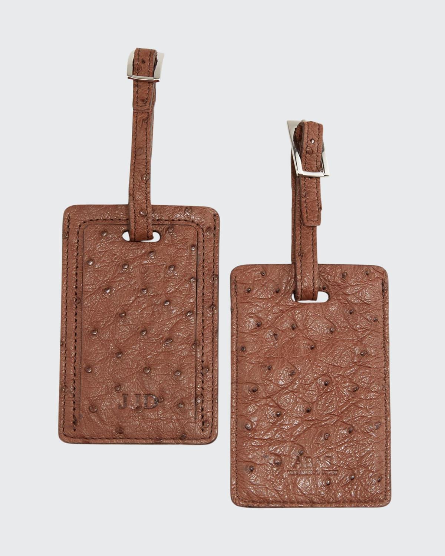 Ostrich Luggage Tags
