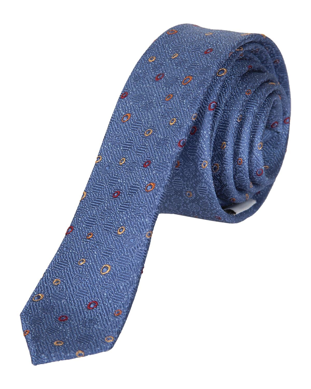 Boy's Micro-Dot Silk Tie