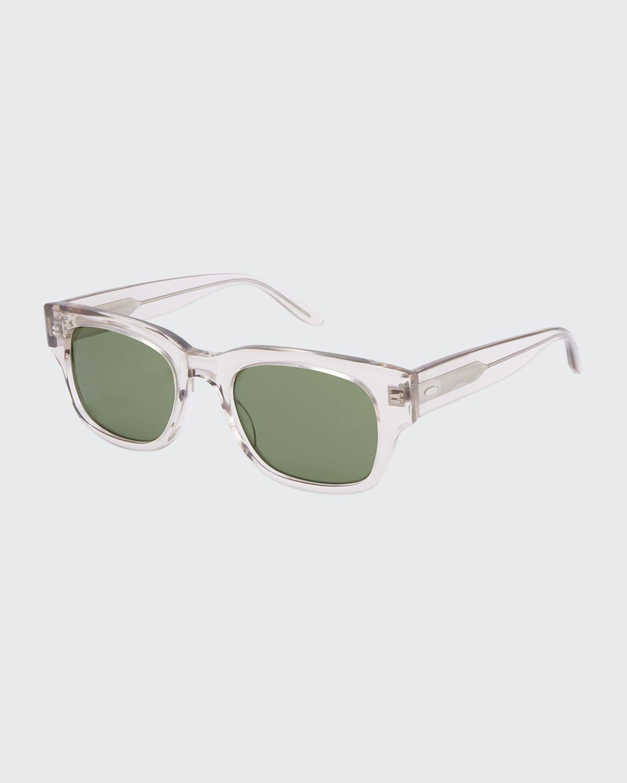 Men's Domino Square Acetate Sunglasses