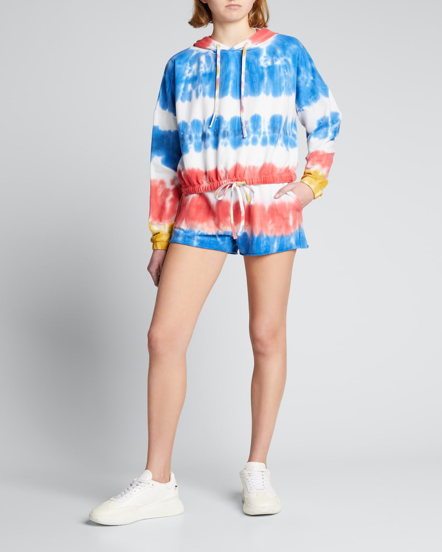 Dip-Dyed Cutoff Shorts