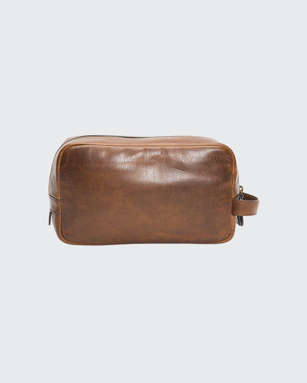 Men's Logan Leather Travel Case