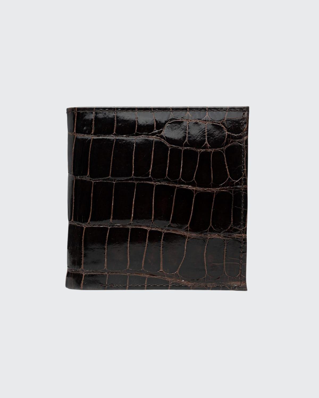 Men's Personalized Alligator Mini Wallet
