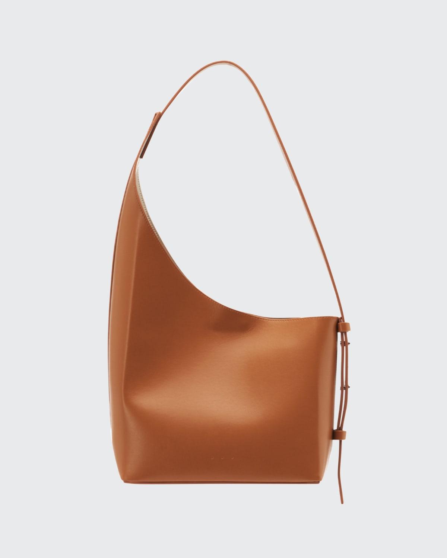 Demi Lune Asymmetric Hobo Shoulder Bag