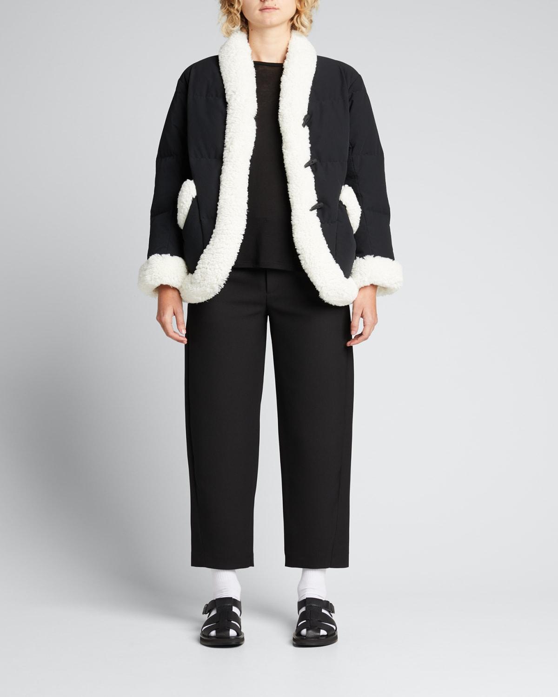Keptar Faux Shearling Puffer Jacket