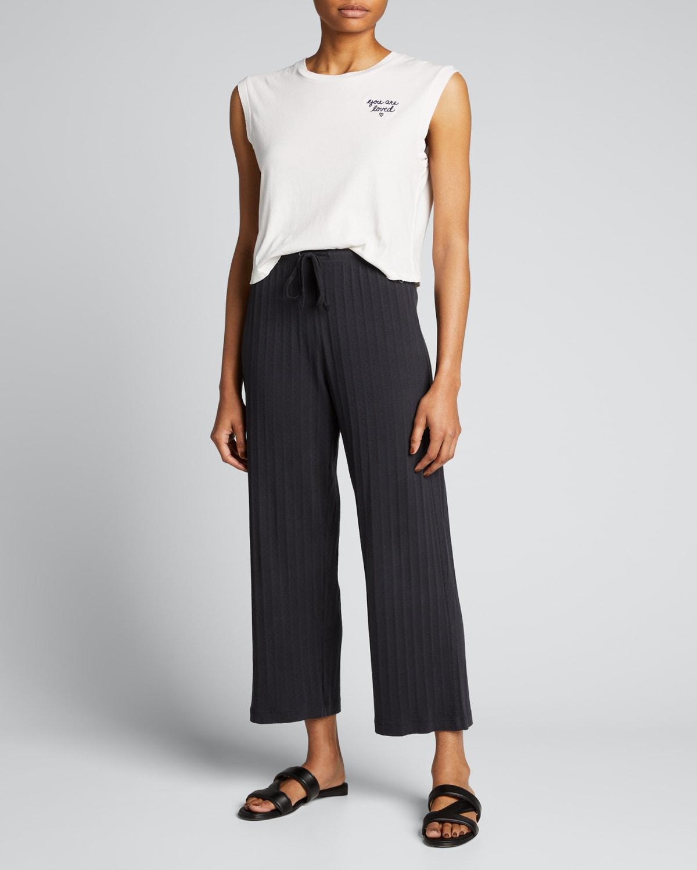 Ribbed Lounge Pants
