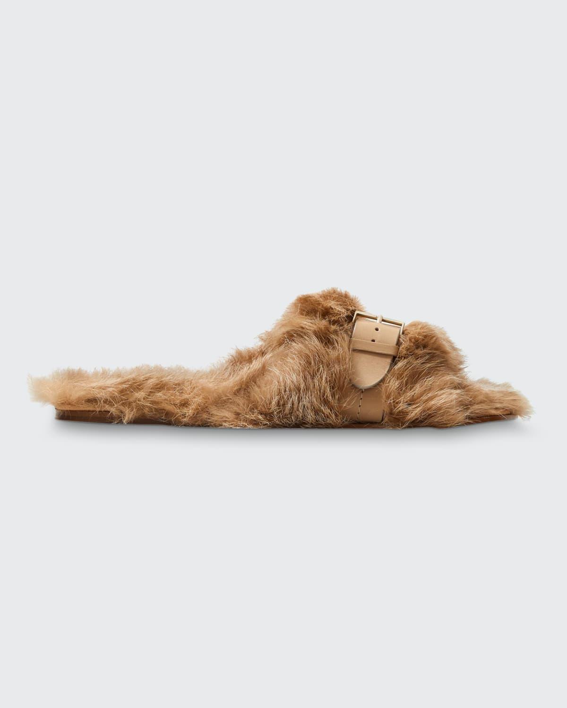 Irina Faux-Fur Slippers