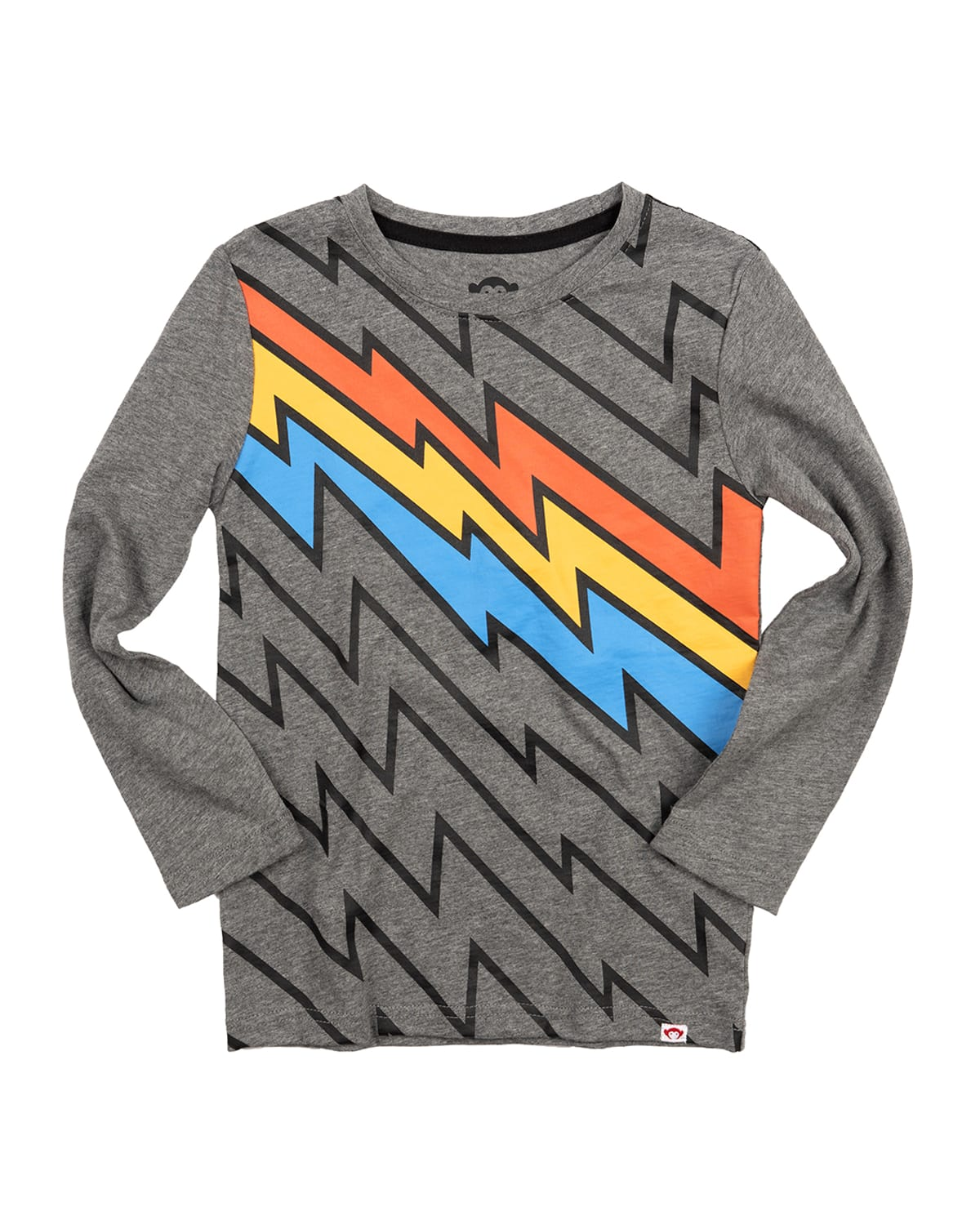 Boy's Multicolor Electrifying Graphic T-Shirt