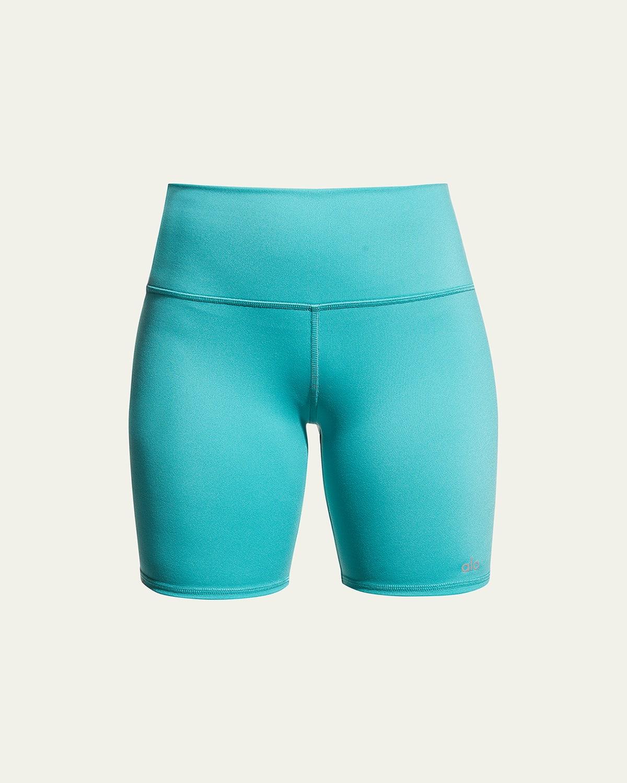 High-Waist Active Biker Shorts