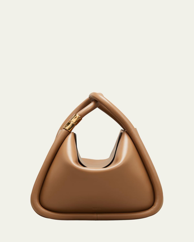 Wonton 25 Leather Top Handle Bag
