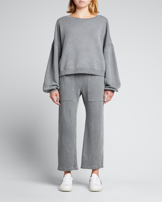 Easy Organic Cotton Fleece Sweatshirt