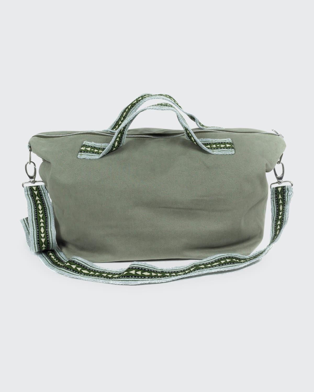Men's Twill Travel Weekend Bag