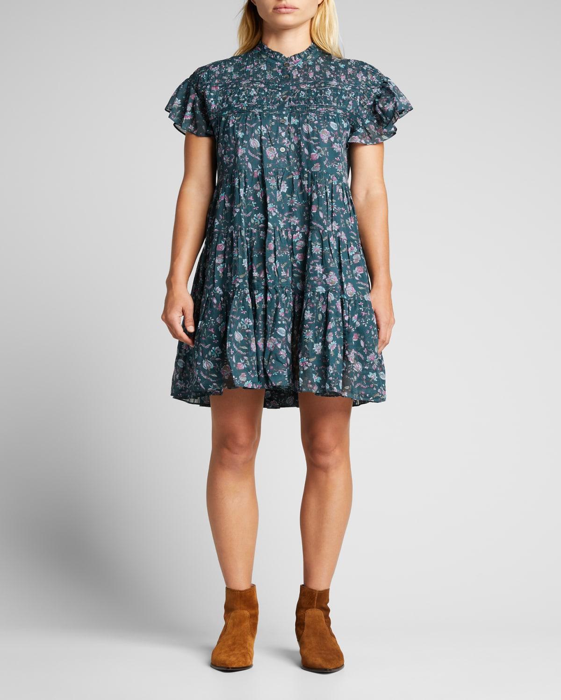 Lanikaye Pintuck Dress