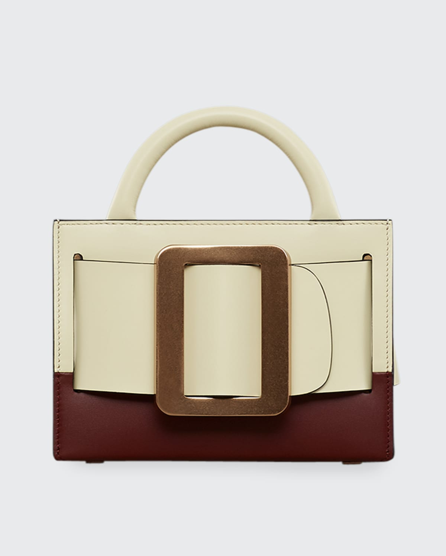 Bobby 18 Bicolor Leather Satchel Bag