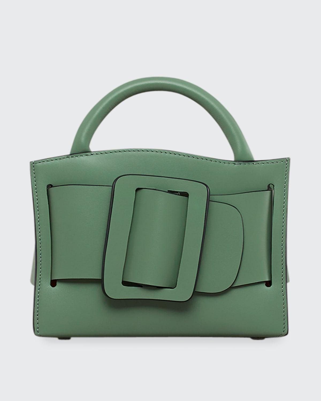 Bobby 18 Buckle Leather Satchel Bag