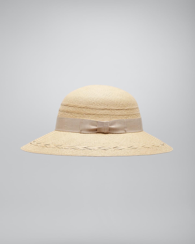 Salacia Woven Bow Sun Hat