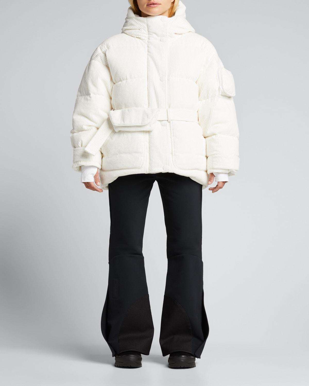 Michlin Oversized Puffer Jacket