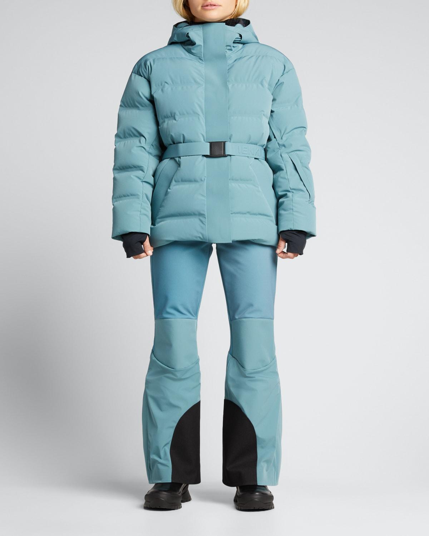 Ski Sheena Belted Puffer Coat