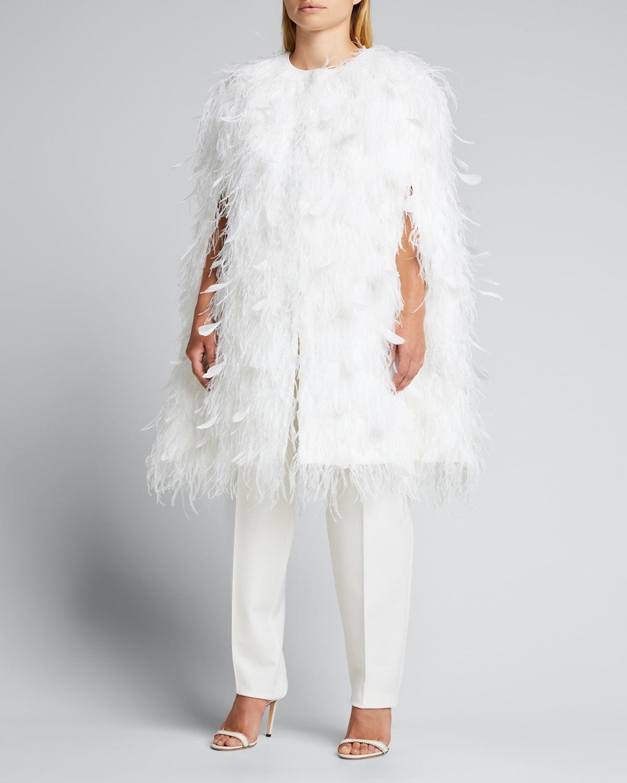 Feather Cape Jacket