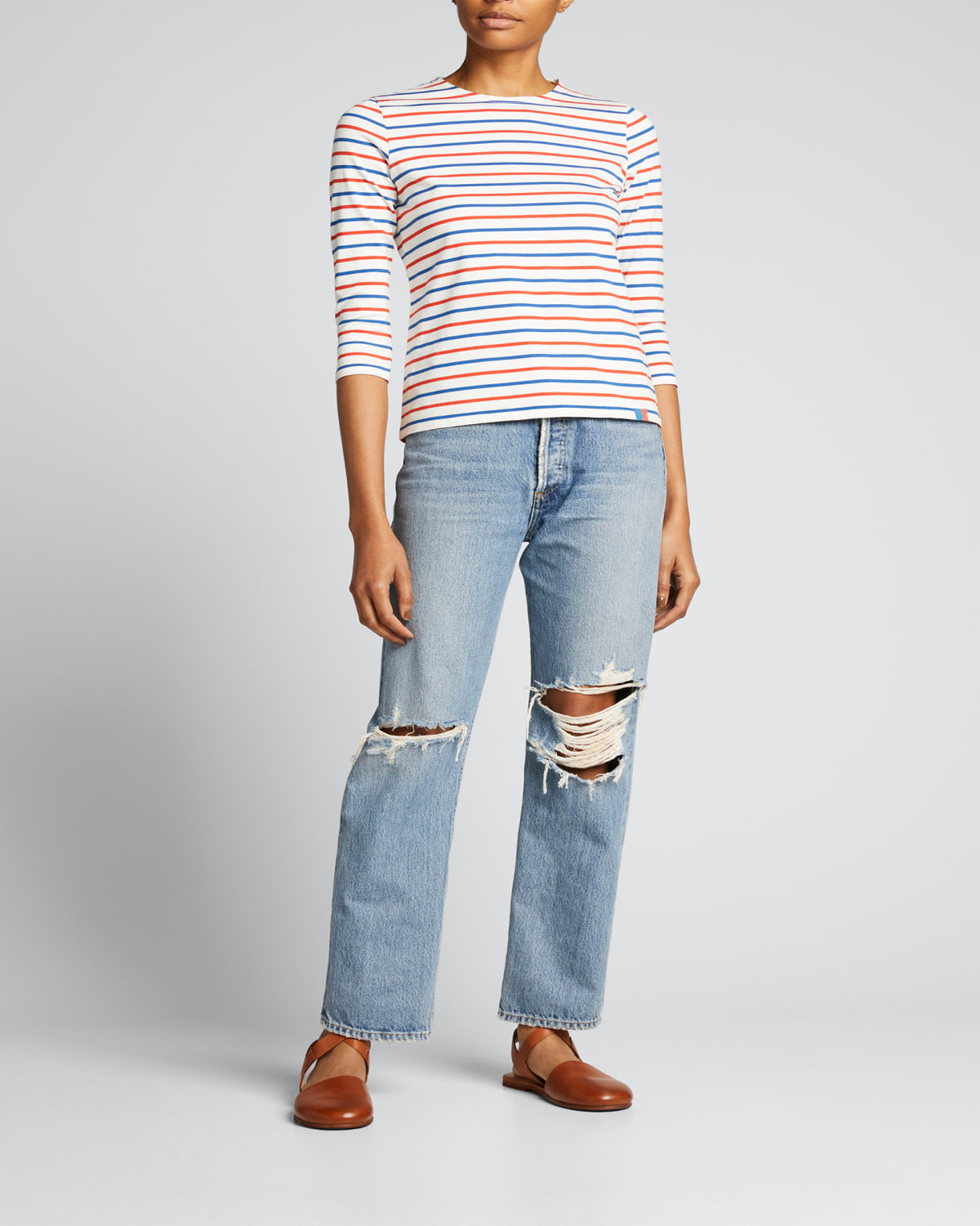 Keira Archer Heights Trouser Jeans