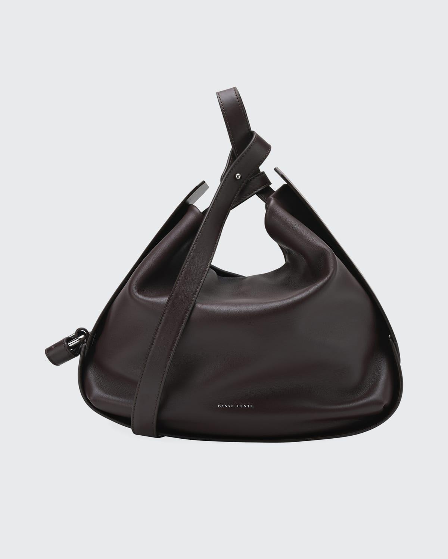 Lake Jumbo Soft Leather Top-Handle Bag