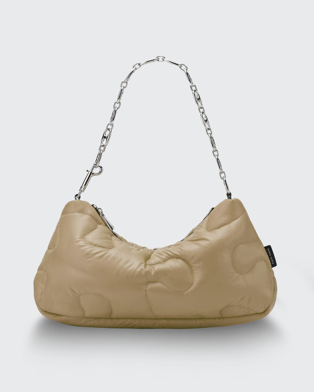 Misty Boost Puzzle Quilt Chain Shoulder Bag