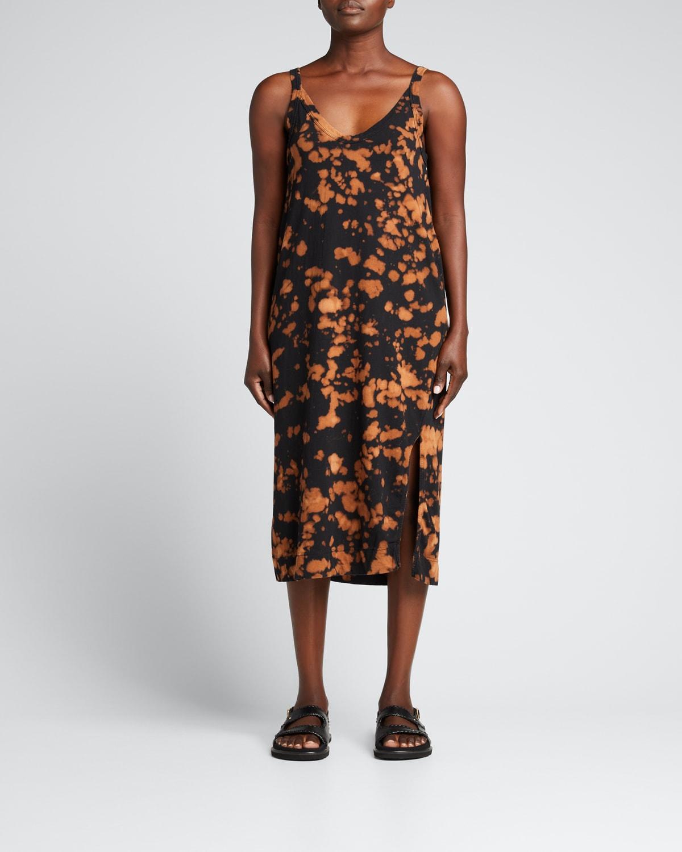 Motley V-Neck Jersey Slip Dress