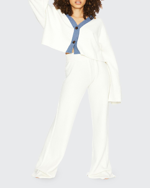 Judith Drop-Shoulder Cardigan Top