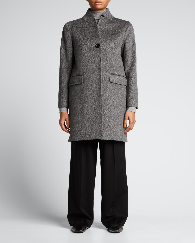 Cashmere Short Car Coat