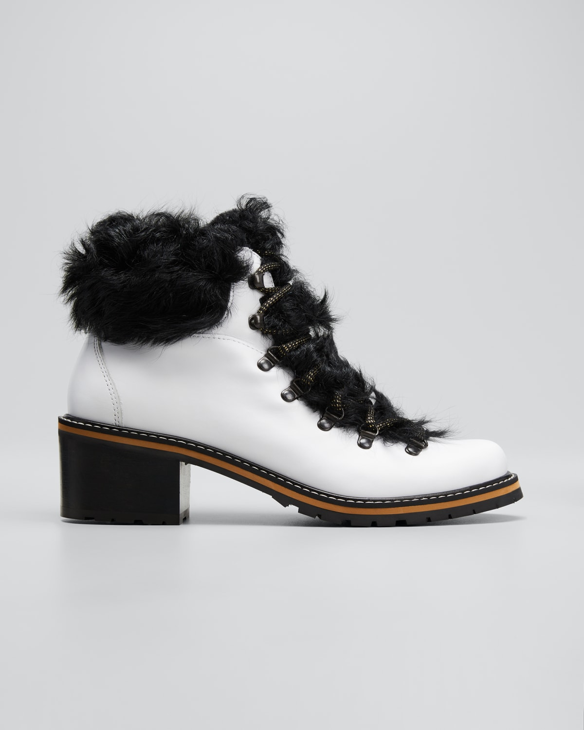 Ninfea Shearling Leather Winter Booties