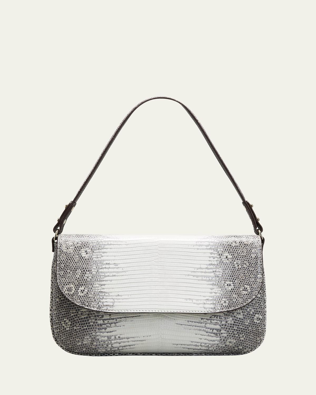 Luisa Lizard Shoulder Bag